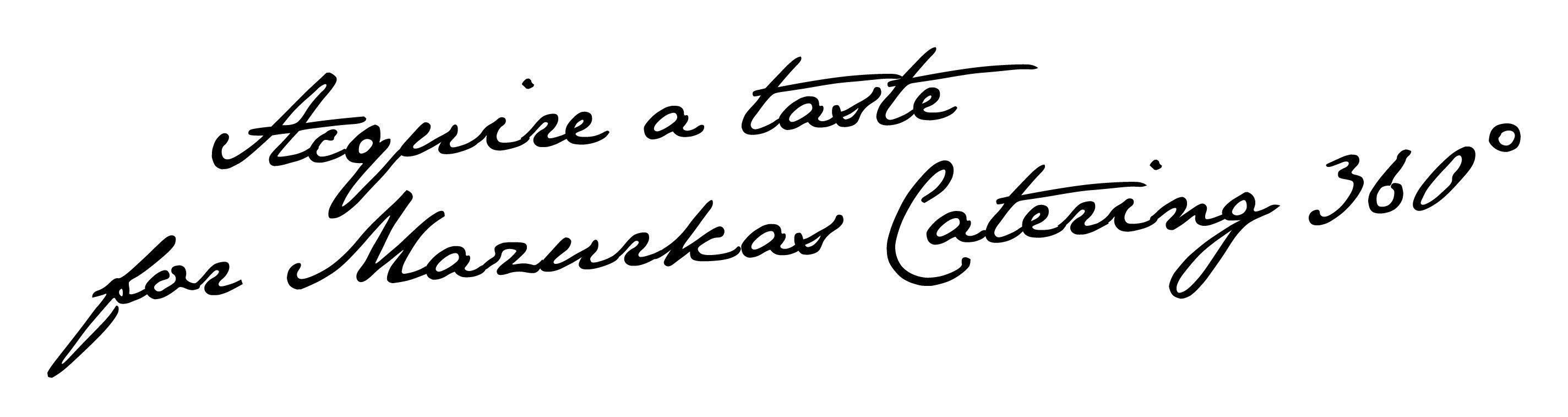 Rozsmakuj się w Mazurkas Catering 360