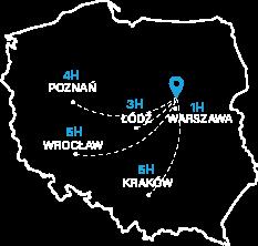 Mapa Zegrzynek