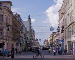 Ulica Piotrkowska Łódź