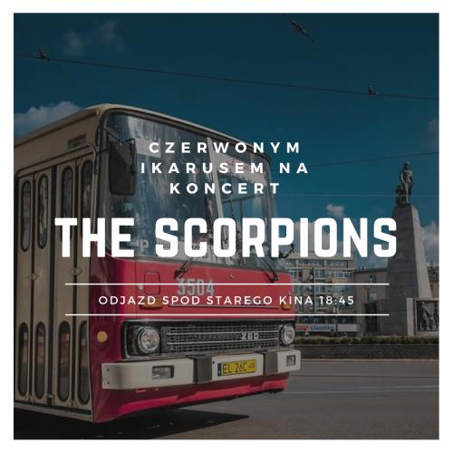 Czerwony Ikarusem na koncert The Scorpions
