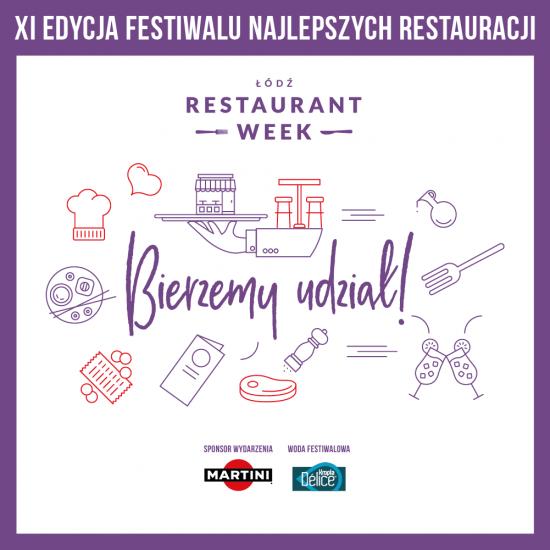 Restaurant Week w restauracji Stare Kino w Łodzi