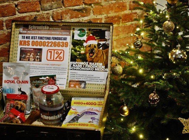 Zbiórka świąteczna dla Schroniska Medor