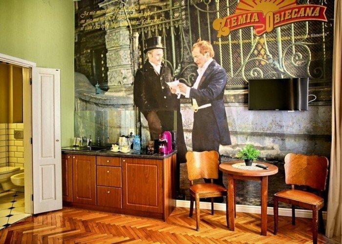 Apartament Ziemia Obiecana
