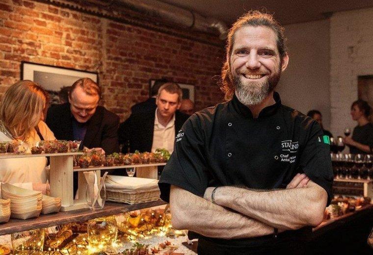 Antoine Lopez - szef restauracji Stare Kino