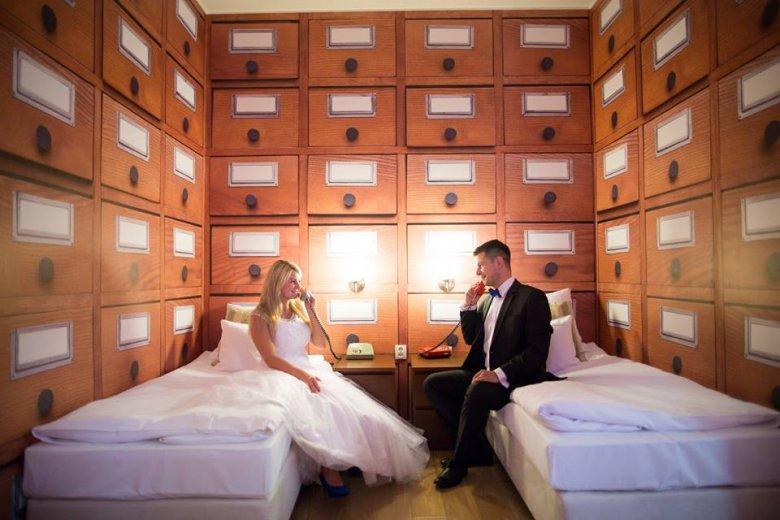 Sesja ślubna w Starym Kinie