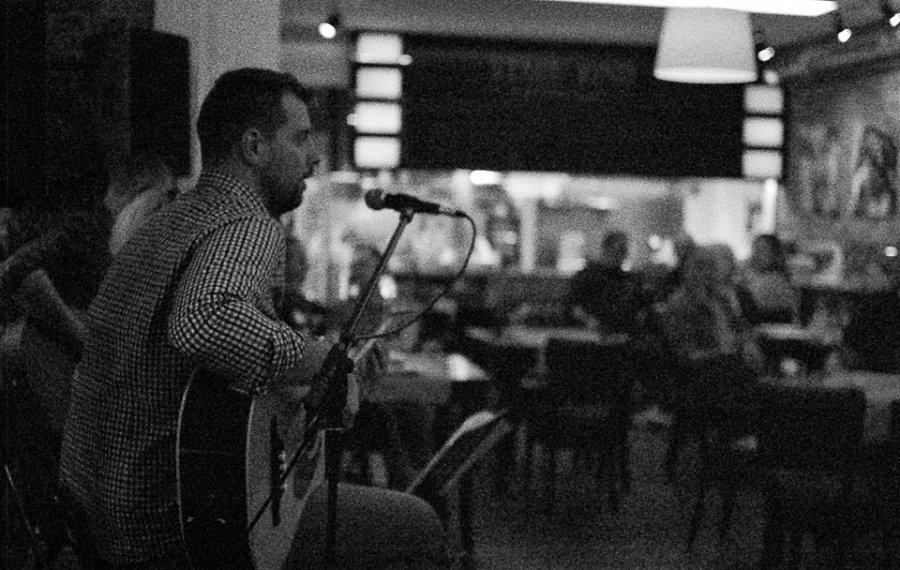Muzyka na żywo w restauracji Stare Kino