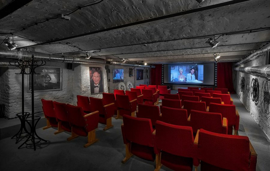 Sala kinowa na konferencję w Łodzi