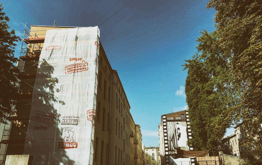 Nowy mural w Łodzi