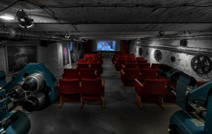 Stare Kino sala kinowa w Łodzi