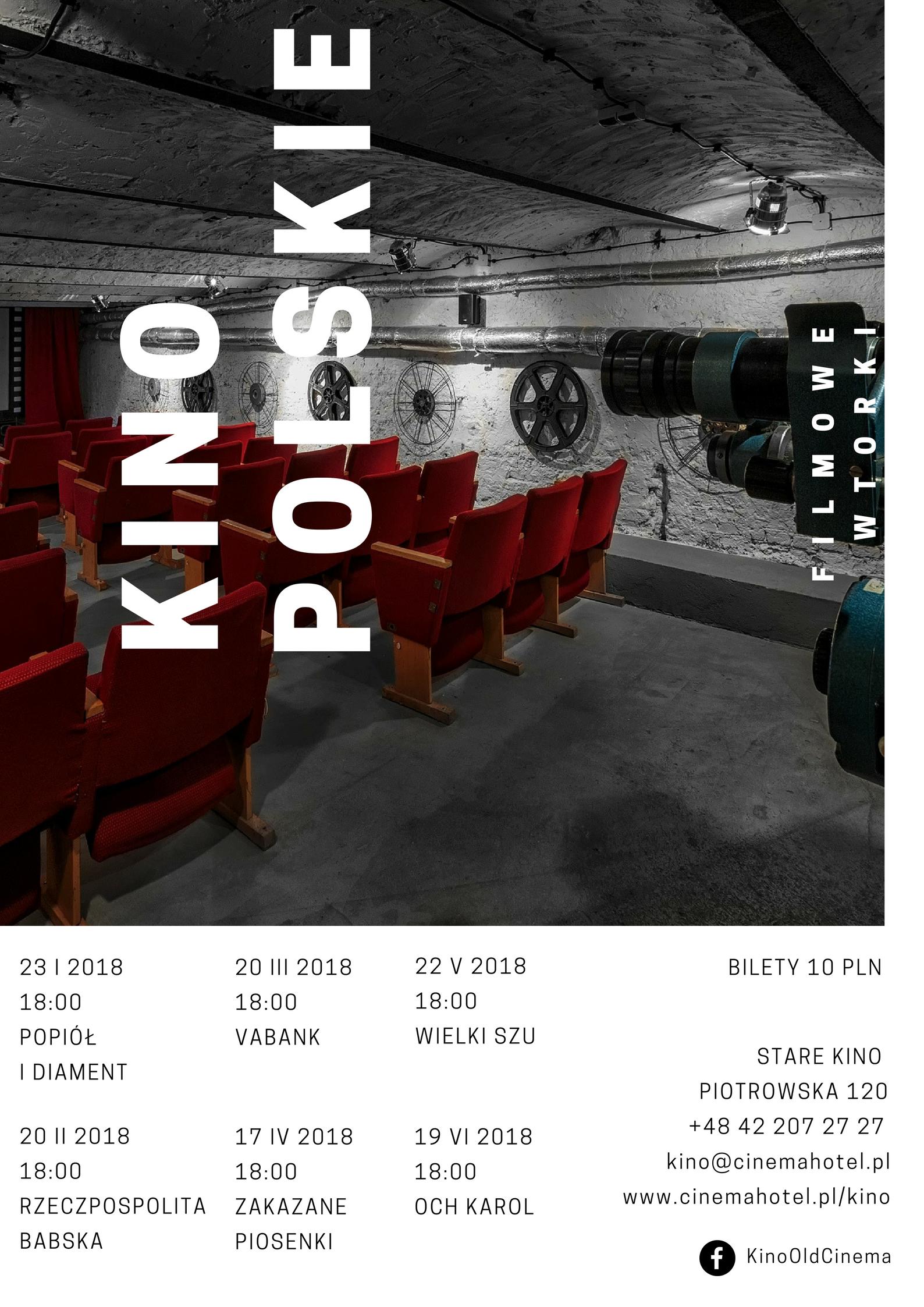 Filmowe wtorki z kinem polskim w Starym Kinie