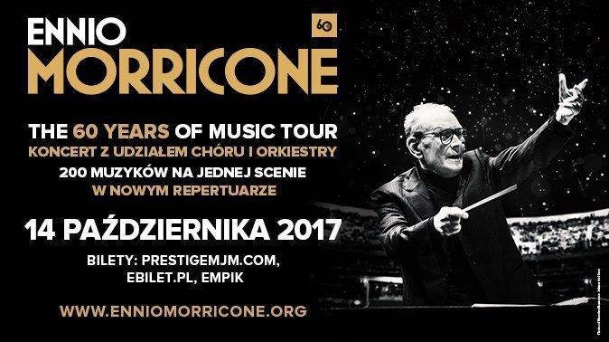 Koncert Ennio Morricone w Łodzi!