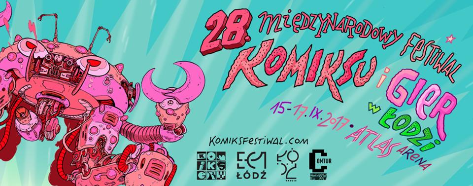 28. Międzynarodowy Festiwal Komiksu i Gier w Łodzi.