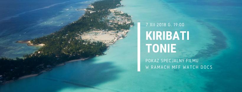 Projekcja filmu Kiribati tonie w Starym Kinie