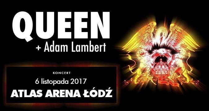 Koncert Queen+Adam Lambert w Łodzi!