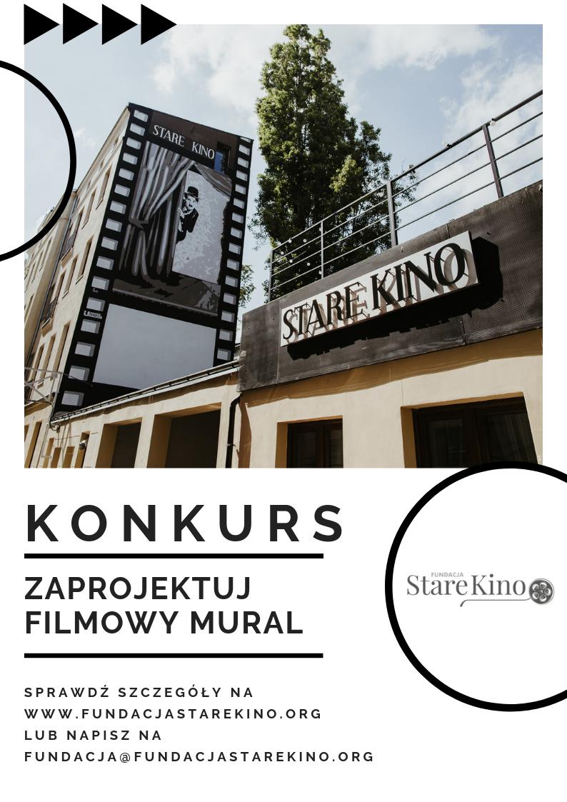 Konkurs na filmowy mural Łódź