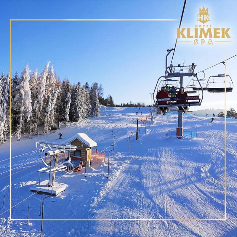 Stoki narciarskie - atrakcje Hotel Klimek SPA