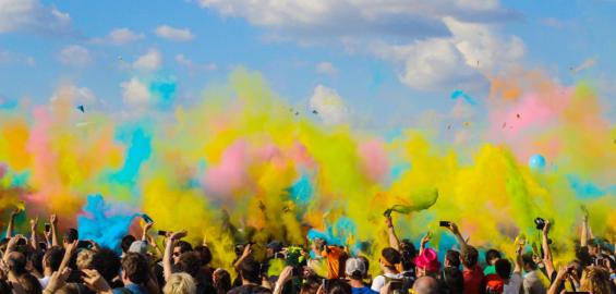 Festiwal kolorów we Wrocławiu