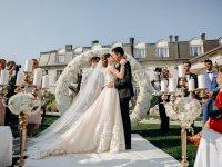 Gallery Alicja & Alan, international wedding reception and outdoor wedding