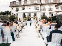 Gallery - Sandra and Paweł, outdoor wedding and wedding reception in the Crystal Room