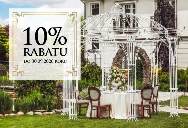 Summer promotion! -10% discount of the base wedding packages