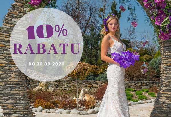 Letnia promocja! -10% od ceny bazowych pakietów weselnych