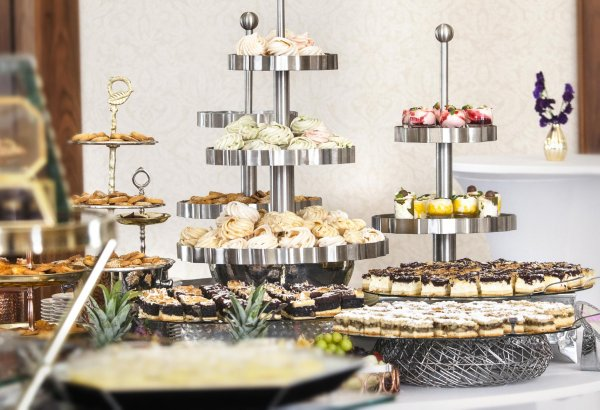 Stylized Sweet Buffet