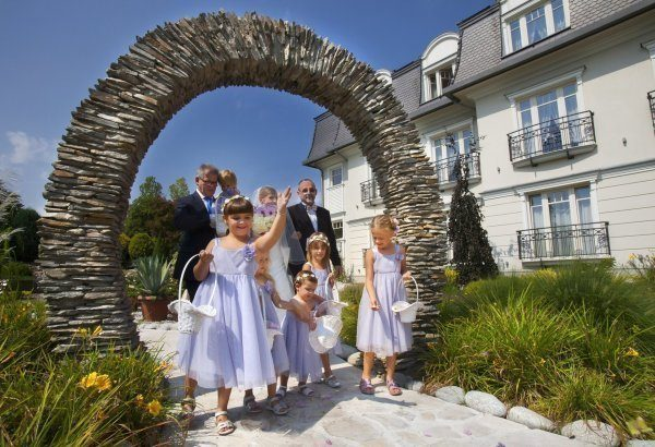 Zaślubiny w ogrodzie