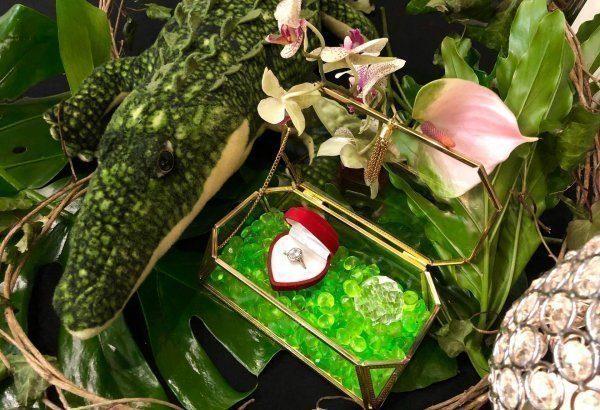 Miłość, Szmaragd i Krokodyl