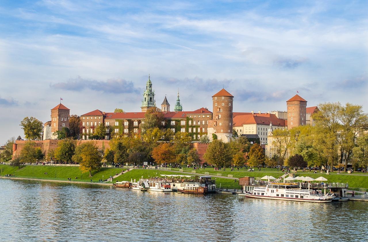 autumn in Krakow