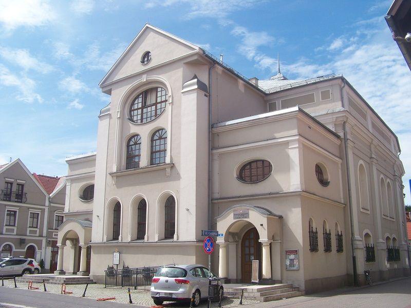 synagoga w lesznie
