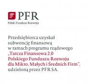 Subwencja finansowa w ramach program rządowego.