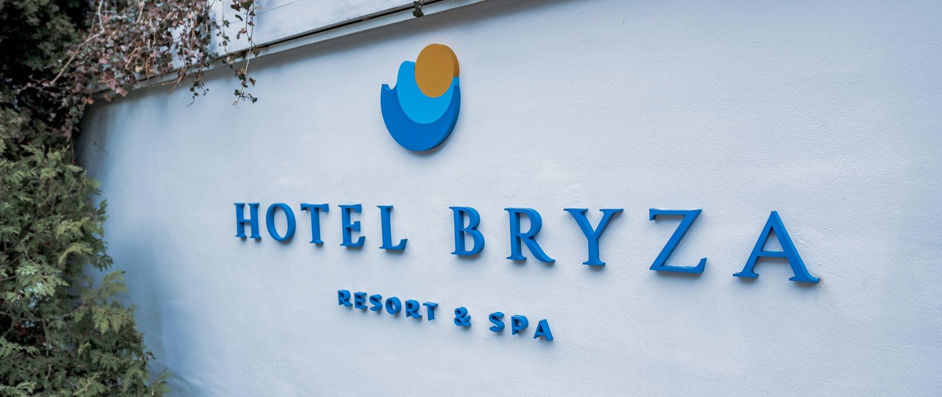 Nowe logo Hotelu Bryza