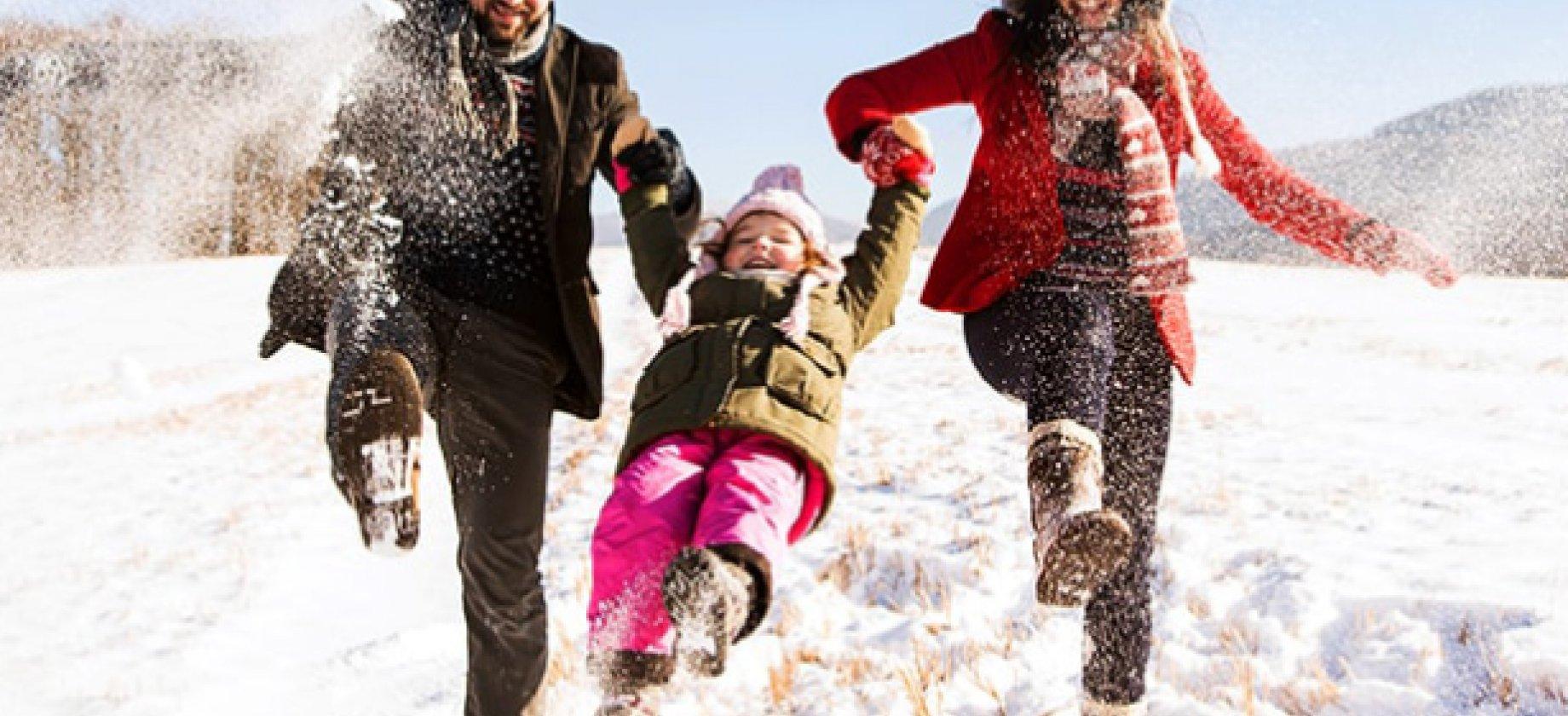 Zimowe spacery w górach