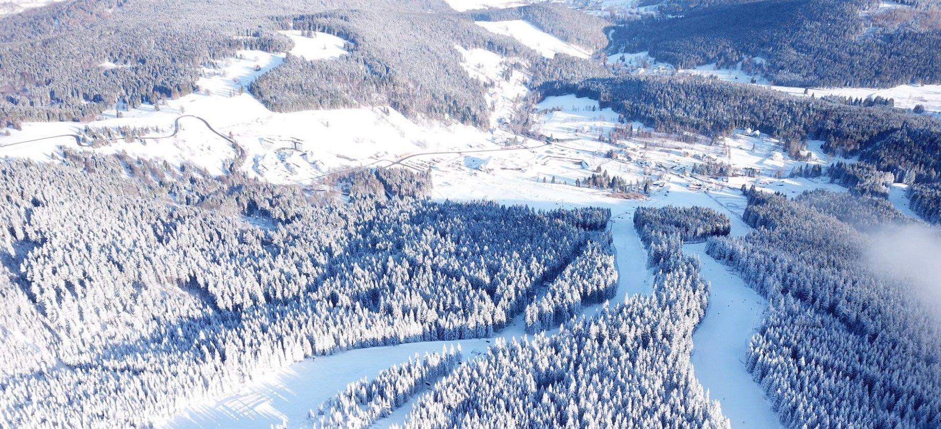 Trasy narciarskie Czarna Góra Resort
