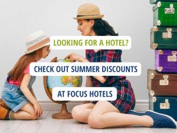 Letnie Promocje w Focus Hotels