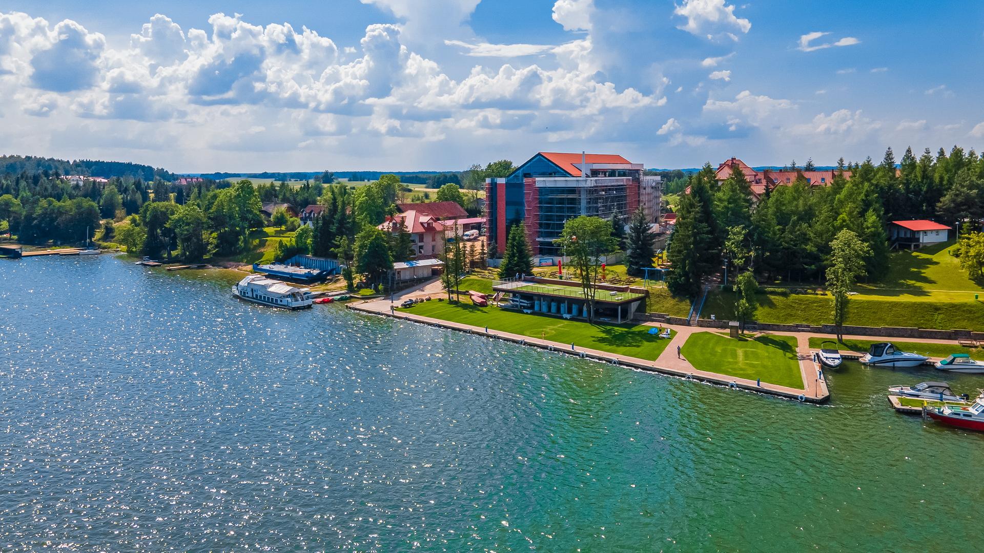 Nowe Centrum Konferencyjne na Mazurach