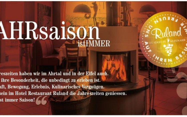 Unser neuer Restaurant-Flyer