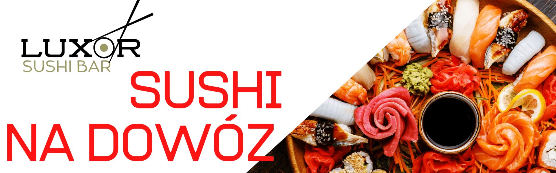 sushi na dowóz