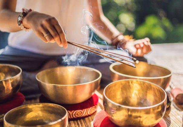 ❤ Seans dźwiękowy z aromaterapią i joga nidra 10.07.2020 ☟