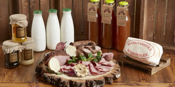 Natural products from local suppliers