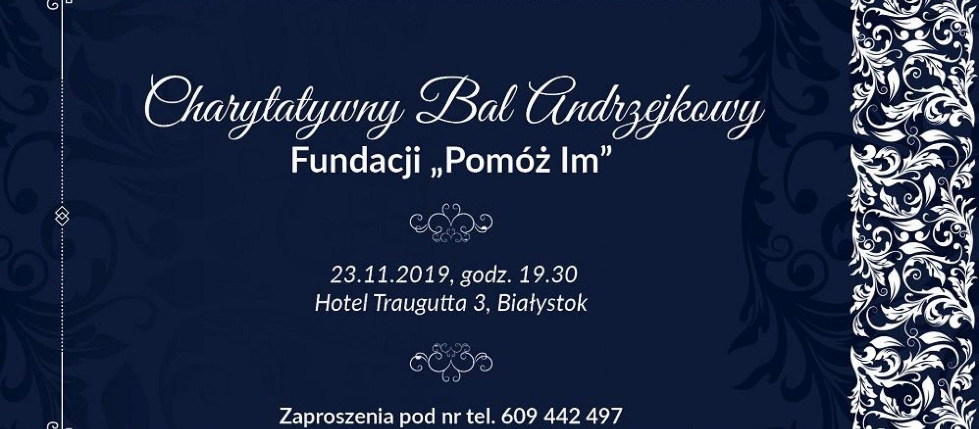Charytatywny Bal Andrzejkowy