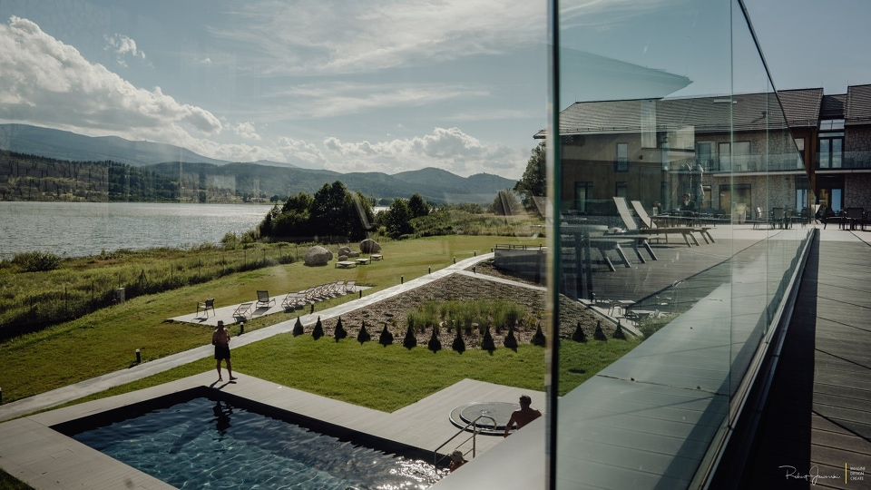 Hotel z basenem w górach