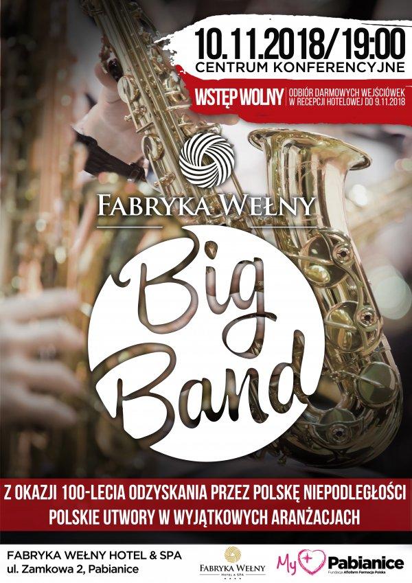 Big Band Fabryka Wełny Koncert