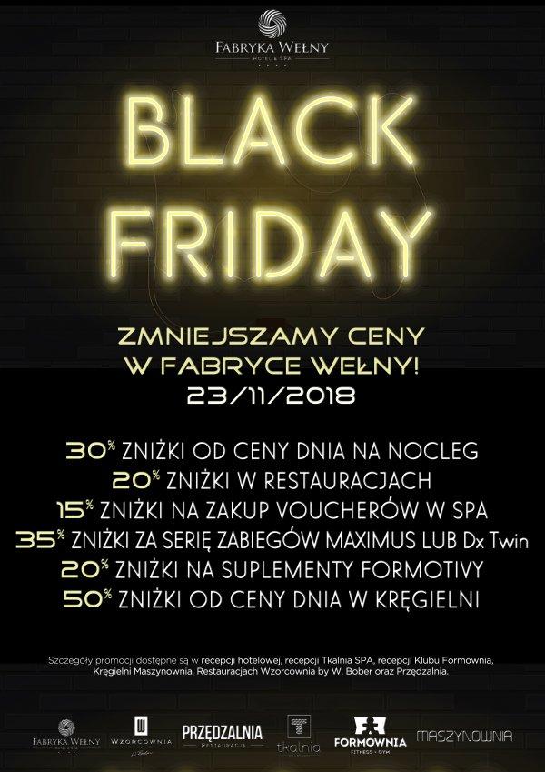 Black Friday Fabryka Wełny