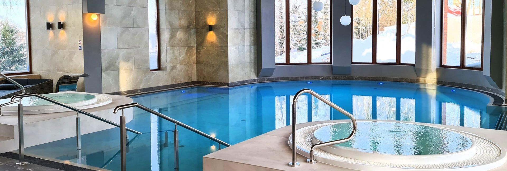 A new, bigger swimming pool
