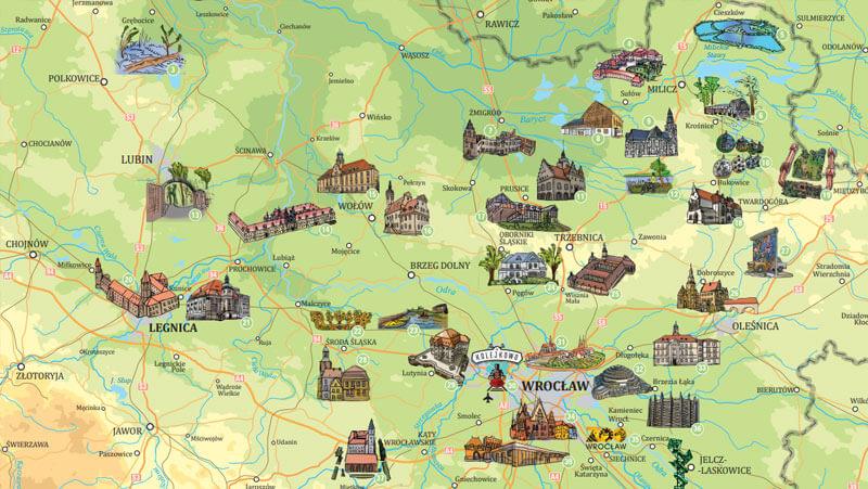 Atrakcje turystyczne Dolnego Śląska