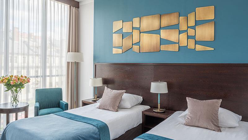 komfortowe pokoje w hotelu Europeum