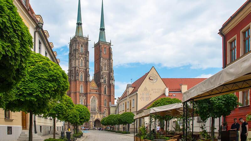 Ostrow Tumski Wrocław