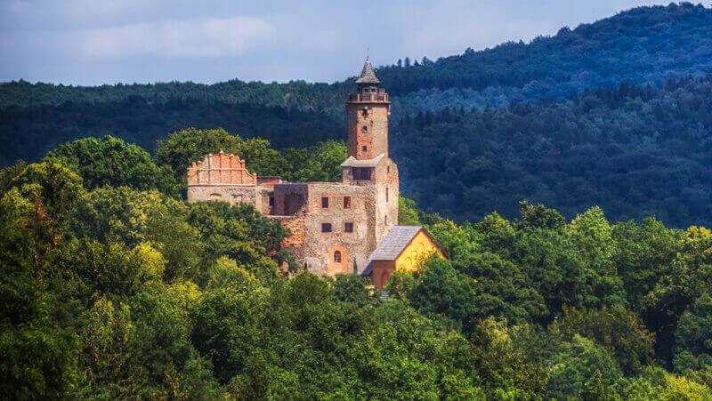 zamek Grodno Dolny Śląsk