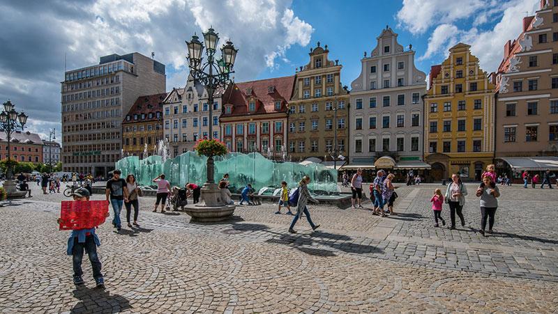 spacery po Wrocławiu